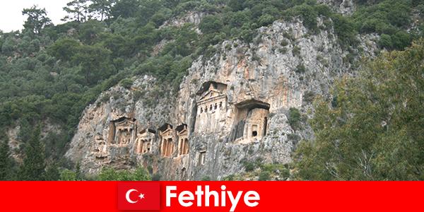 터키 남서부의 페티예 시
