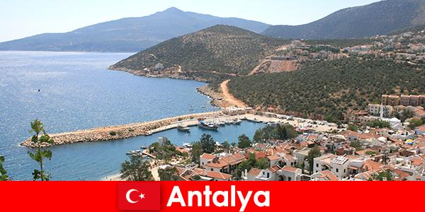터키 안탈리아 의 해변