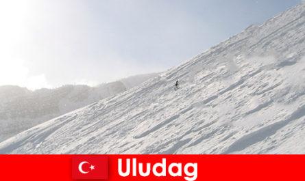 터키 울루다그 겨울 휴가