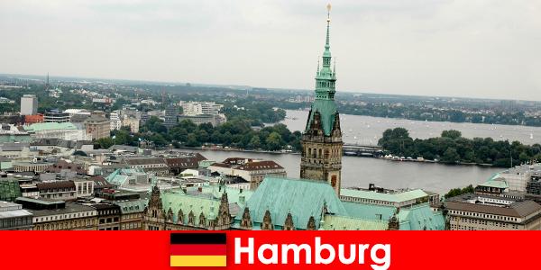 함부르크 시의 리퍼반으로 여행 및 엔터테인먼트