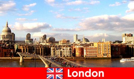 영국 런던의 관광객을 위한 레저 활동