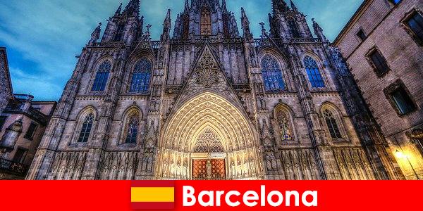 바르셀로나는 수천 년 된 문화의 증언으로 모든 손님을 고무