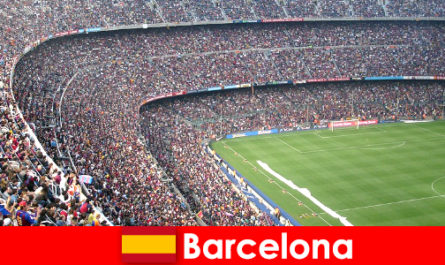 바르셀로나 는 스포츠 및 모험과 관광객을위한 꿈의 여행