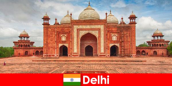 델리의 여행자들이 인도에서 가장 좋은 명소를 찾을 수 있는 것