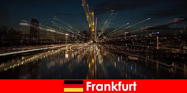 독일 외국인을 위한 프랑크푸르트 유럽 교통 허브