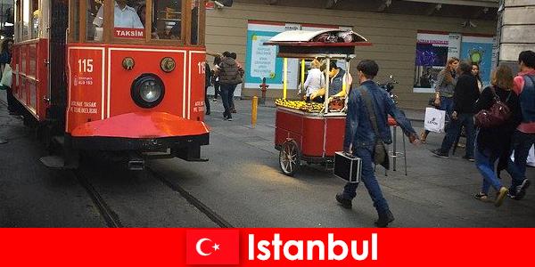 이스탄불은 전 세계의 모든 사람과 문화를 위한 세계적인 대도시입니다.