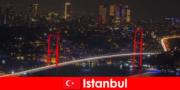 이스탄불의 술집, 바, 젊은이들을 위한 클럽의 나이트라이프
