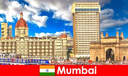 뭄바이는 경제와 관광을위한 인도의 중요한 대도시