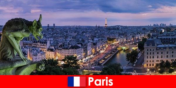 파리는 건물에 특별한 매력을 가진 예술가 도시