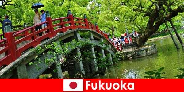 후쿠오카는 이민자들의 삶의 질이 높은 편안하고 국제적인 분위기입니다.