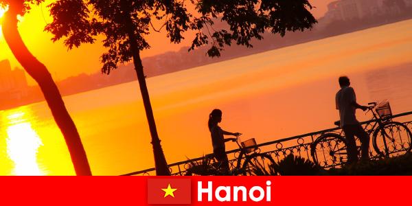 더운 온도, 끝없이 재미를 사랑하는 여행객을위한 하노이