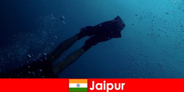 자이푸르의 수상 스포츠는 다이버들에게 가장 좋은 팁입니다.