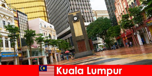 말레이시아 에서 가장 큰 대도시 지역의 쿠알라룸푸르 문화 및 경제 중심지