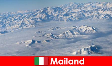 밀라노 는 이탈리아에서 관광객을위한 최고의 스키 리조트 중 하나