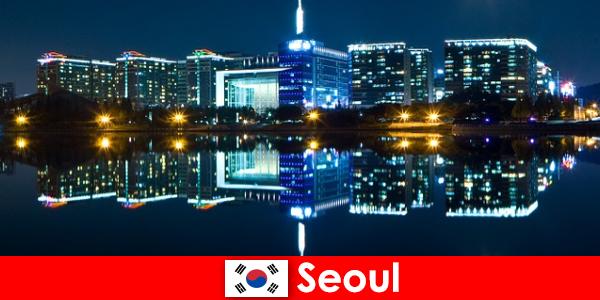 한국의 서울은 현대와 전통을 보여주는 매혹적인 도시입니다.