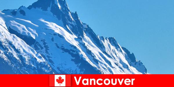 캐나다 밴쿠버시는 등산 관광의 주요 목표입니다.