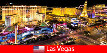 전 세계 손님을 위한 라스베이거스 미국의 눈부신 게임 낙원