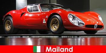 밀라노 이탈리아는 항상 전 세계에서 자동차 애호가를위한 인기있는 목적지