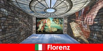 옛 주인의 예술 애호가를 위한 피렌체 이탈리아 도시 여행