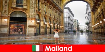 밀라노 이탈리아의 유명한 오페라 하우스와 극장에 유럽 여행