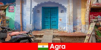 농촌 마을 생활에서 아그라 인도해외 여행
