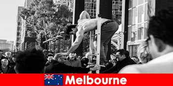 멜버른 오스트레일리아의 창의적인 휴가를 즐기는 사람들을위한 예술과 문화