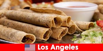 외국인 관광객은 로스 앤젤레스 미국 최고의 레스토랑에서 다양한 요리 이벤트를 기대할 수 있습니다