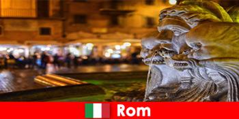 로마 이탈리아의 멋진 도시를 통해 매주 손님을위한 버스 투어
