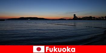 후쿠오카 체험 재팬의 아름다운 도시를 통해 그룹과 지역 투어