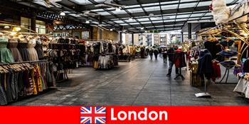 런던 잉글랜드 쇼핑 관광객을위한 최고의 주소