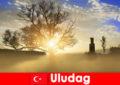 울루다그 터키의 아름다운 자연을 즐기는 하이킹 휴가