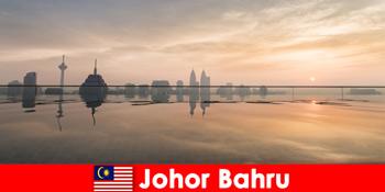 조호르 바루 말레이시아에서 휴가를 즐기는 여행객을 위한 호텔 예약 예약