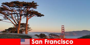 미국 등산객을 위한 샌프란시스코 어드벤처 체험