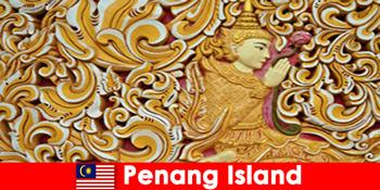 문화 관광은 페낭 섬 말레이시아에 많은 외국인 방문자를 끈다