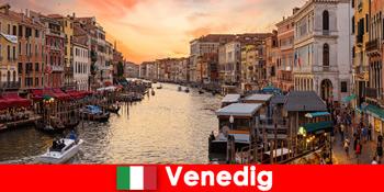 이탈리아 베니스 작은 팁 금지 및 관광객에 대 한 규칙